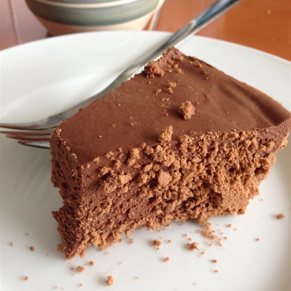 Rich Chocolate Truffle Pie LUCYFROG