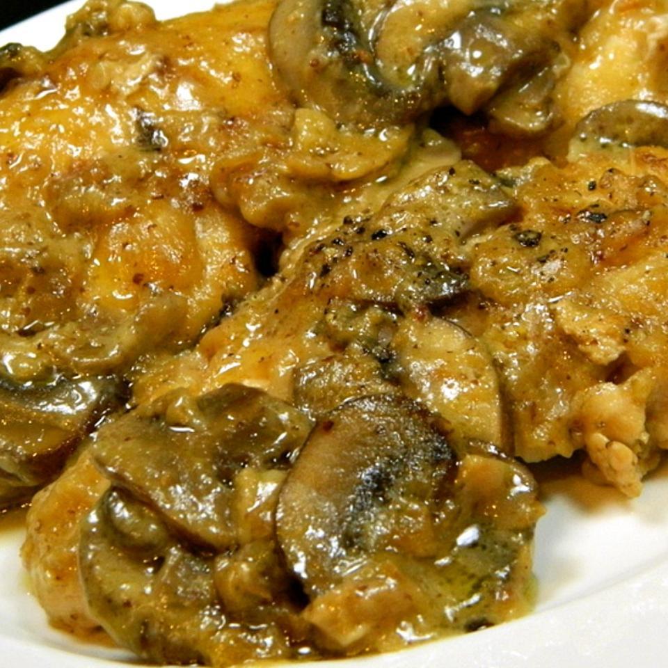Chicken Mushroom Dijon DebbyJean