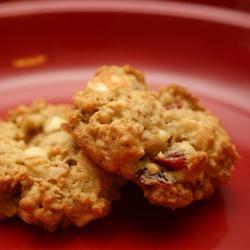Oatmeal Cranberry White Chocolate Chunk Cookies JOANNAH