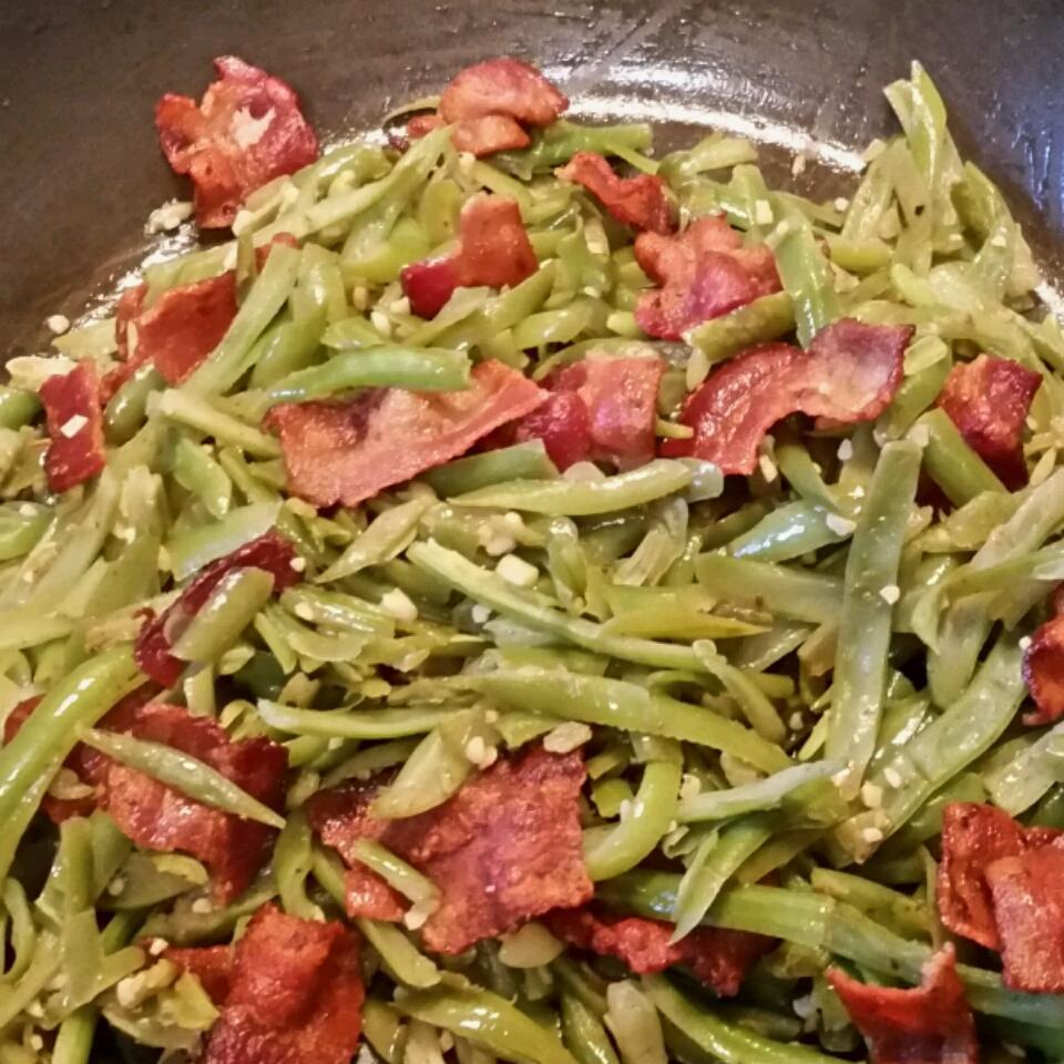 Green Bean and Bacon Saute stewfam