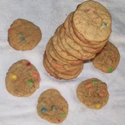 Peanut Butter Mini Candy-Coated Chocolates Cookies STARAJOY