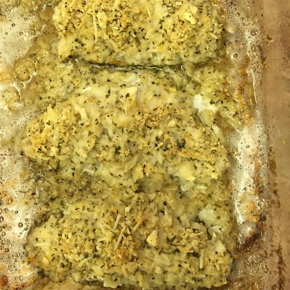 Baked Butter Herb Perch Fillets Andrea0930