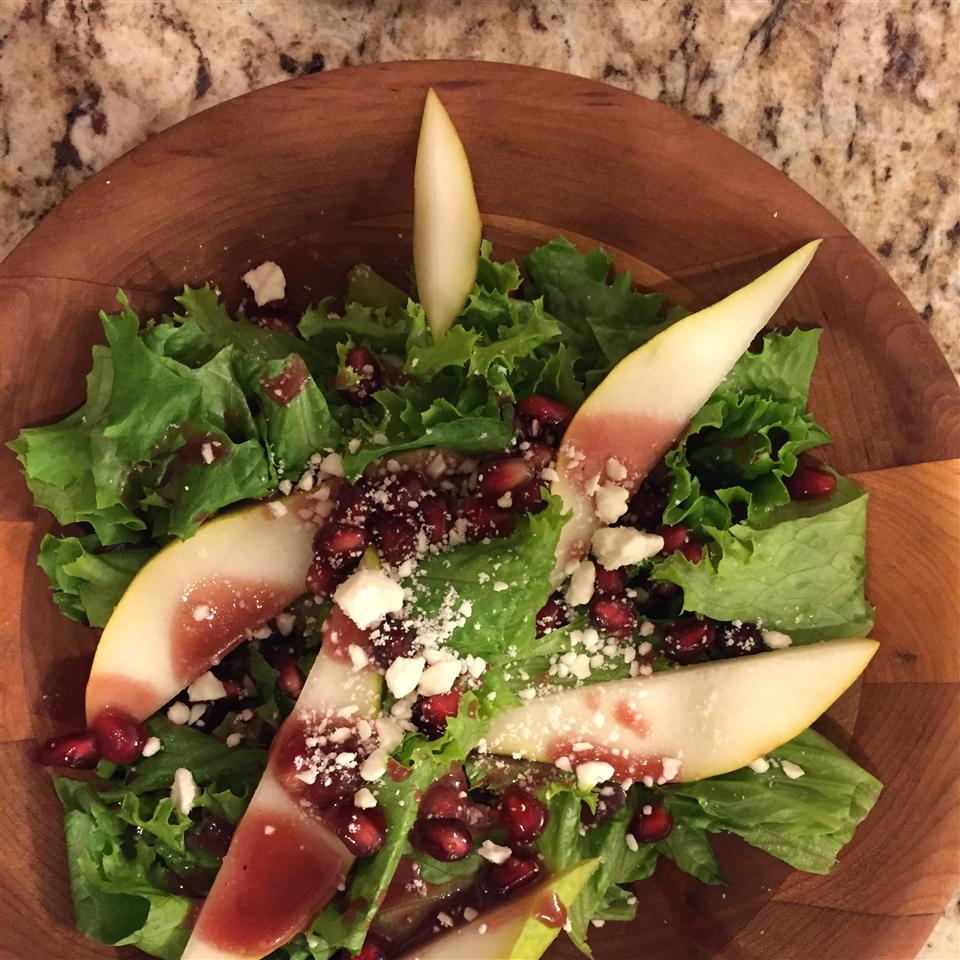 Pear and Pomegranate Salad Connie