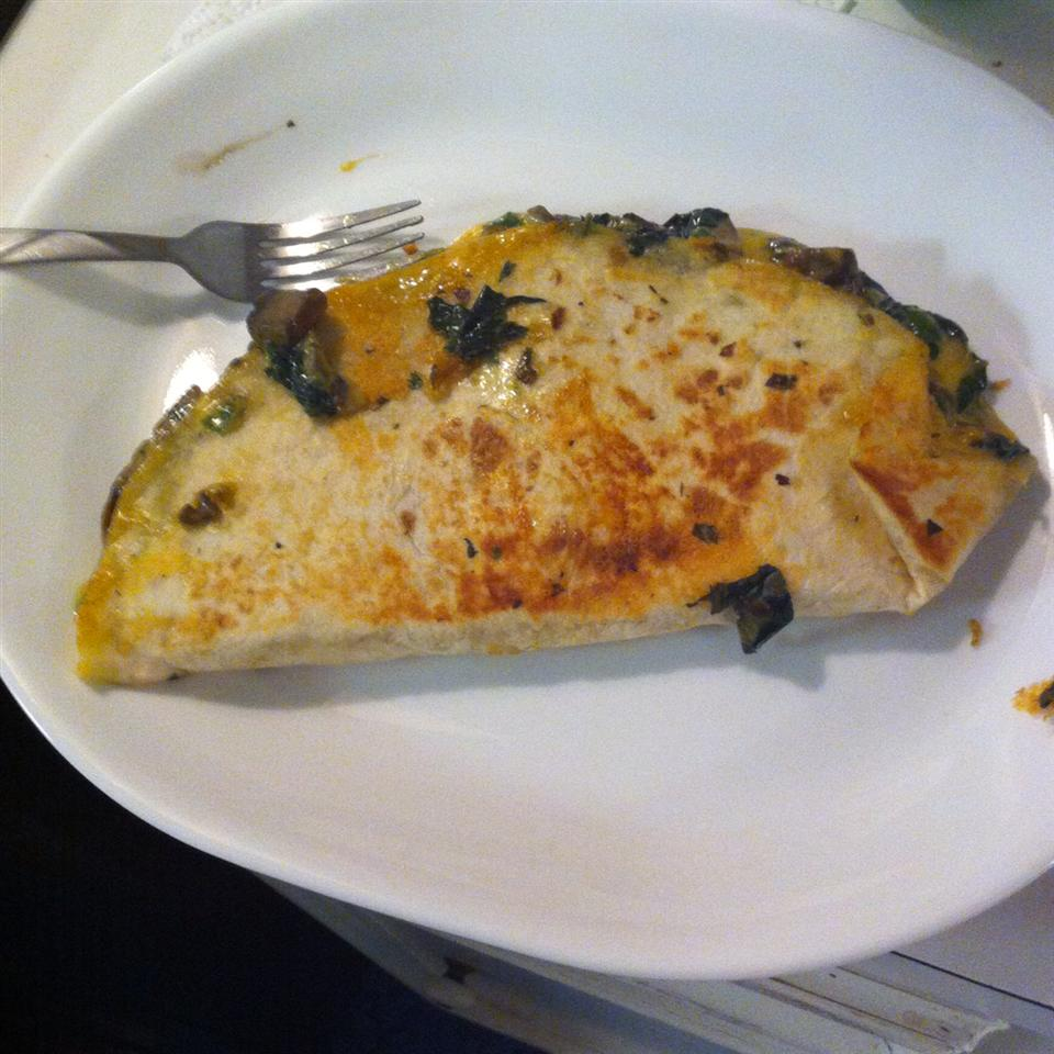 Spinach and Mushroom Quesadillas TriciaL
