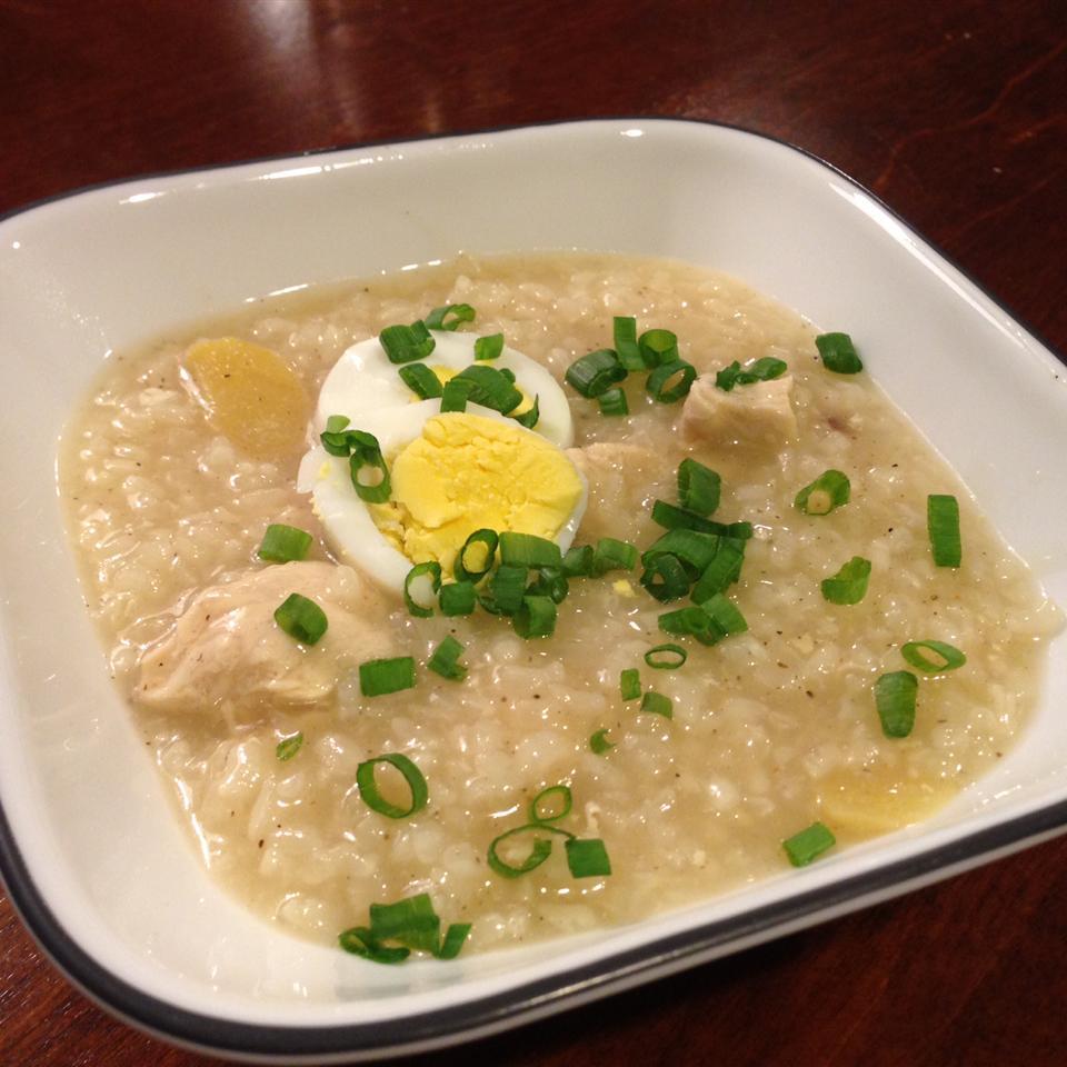 Chicken Arroz Caldo (Chicken Rice Porridge) ashli141