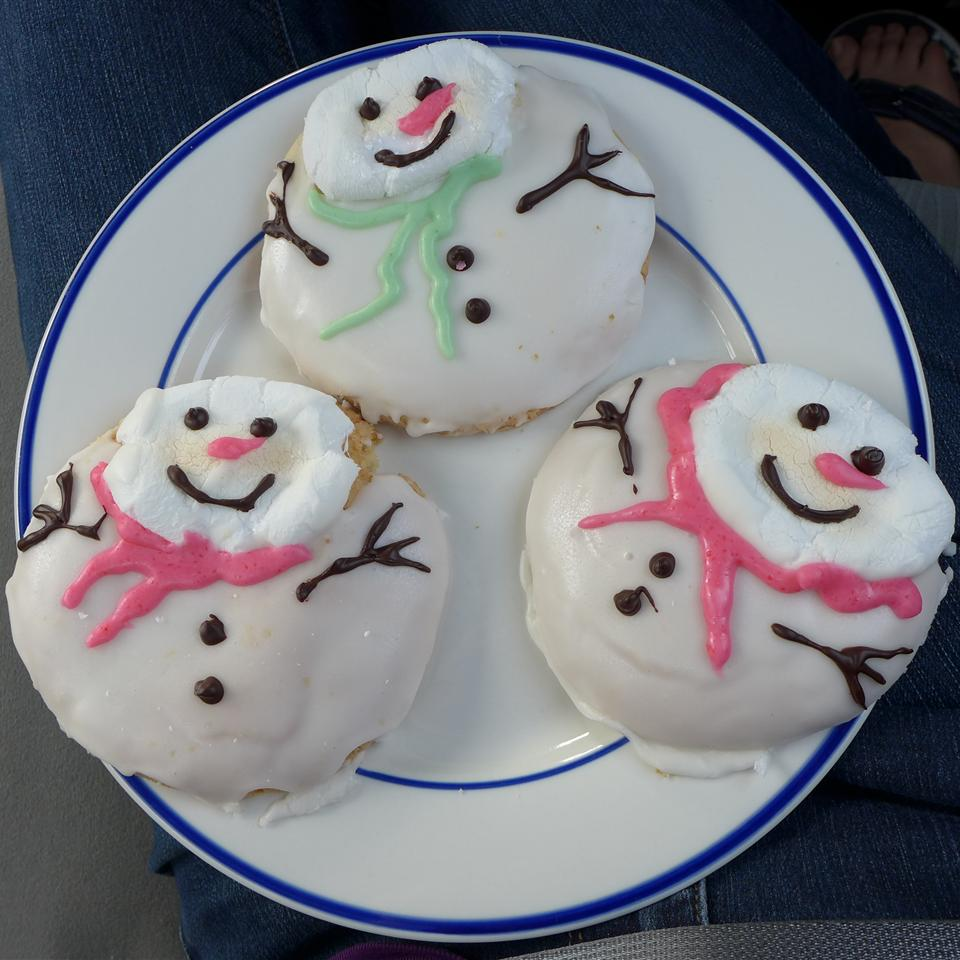 Melted SnowMan Cookie tarah.williams