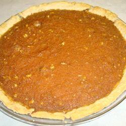 Carrot Spice and Walnut Pie