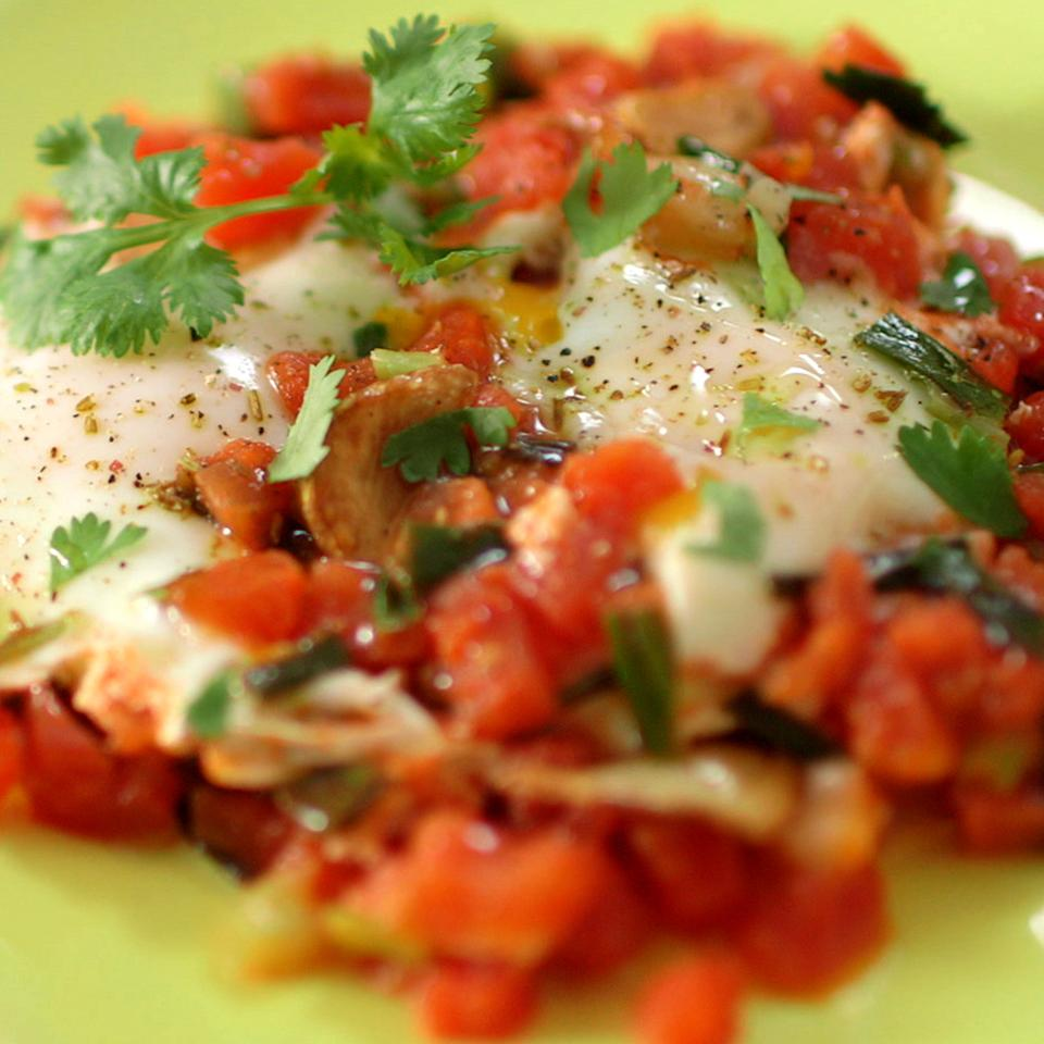 Moroccan-Inspired Eggs