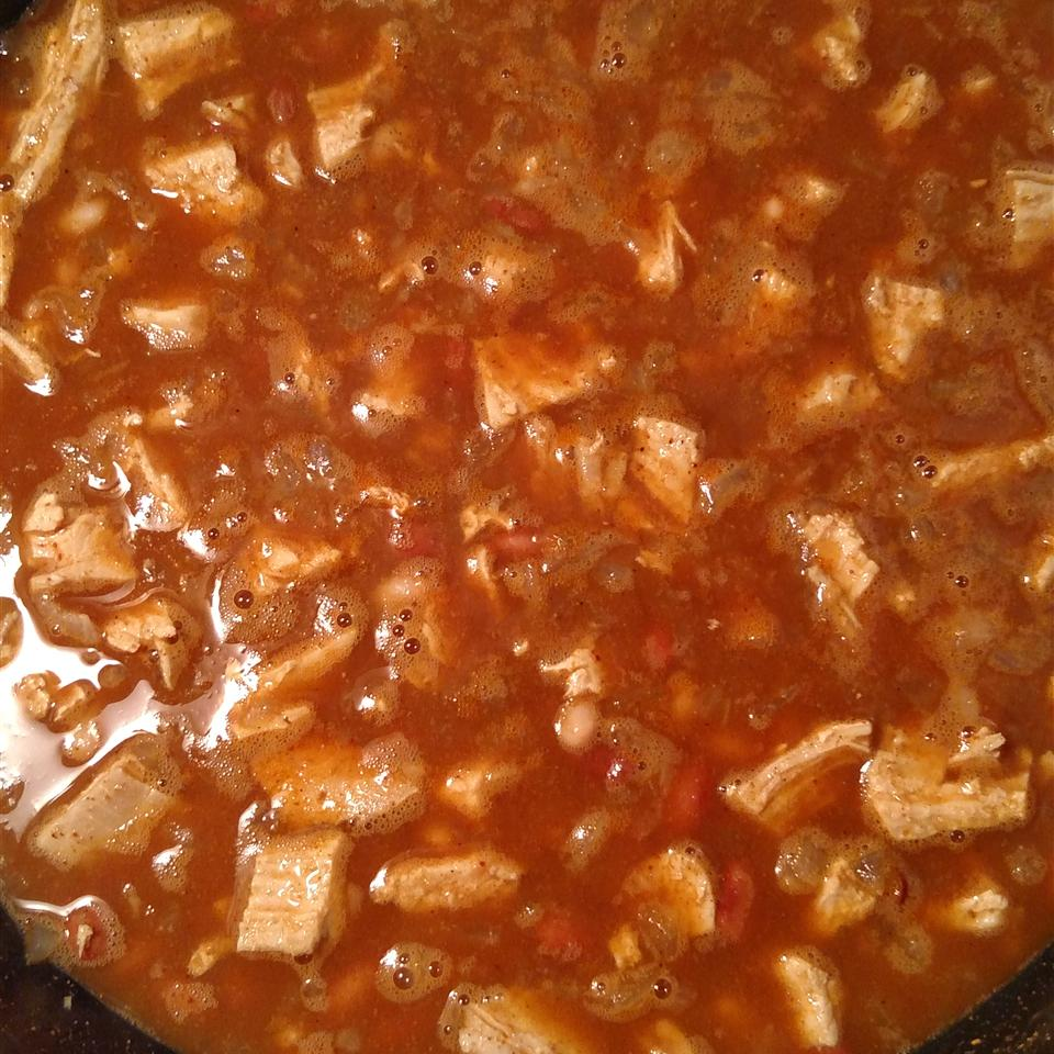 Super Easy Chicken Chili Minnie Schram