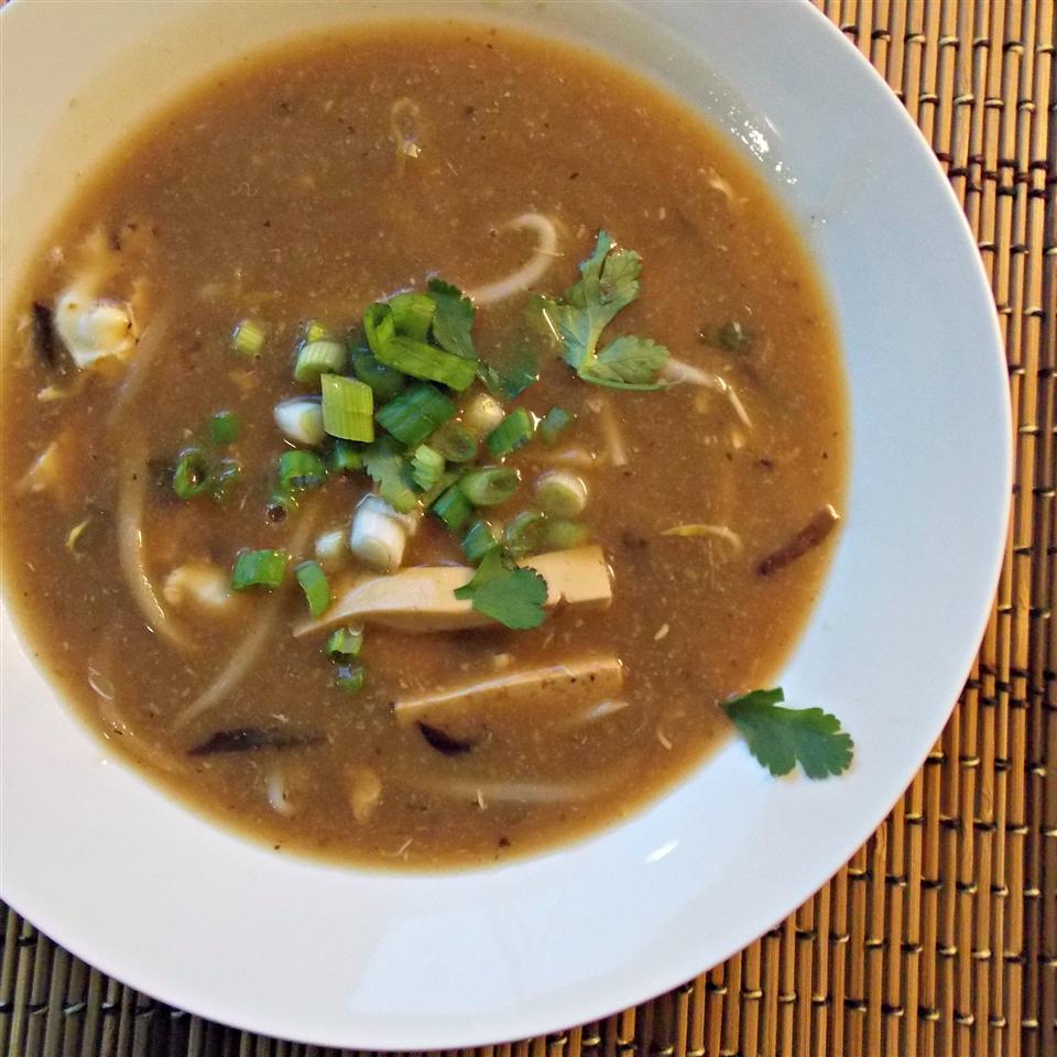 Hot and Sour Soup with Bean Sprouts