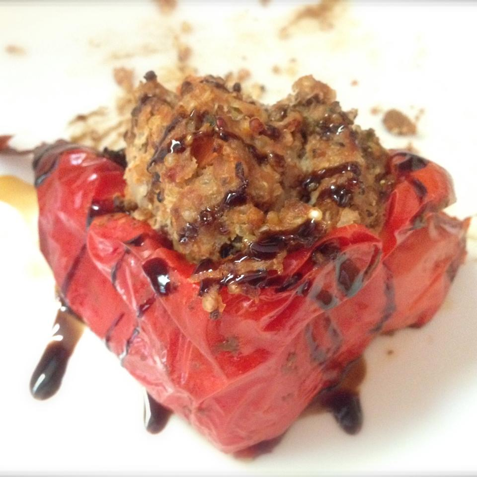 Millet and Beef Stuffed Peppers Buckwheat Queen