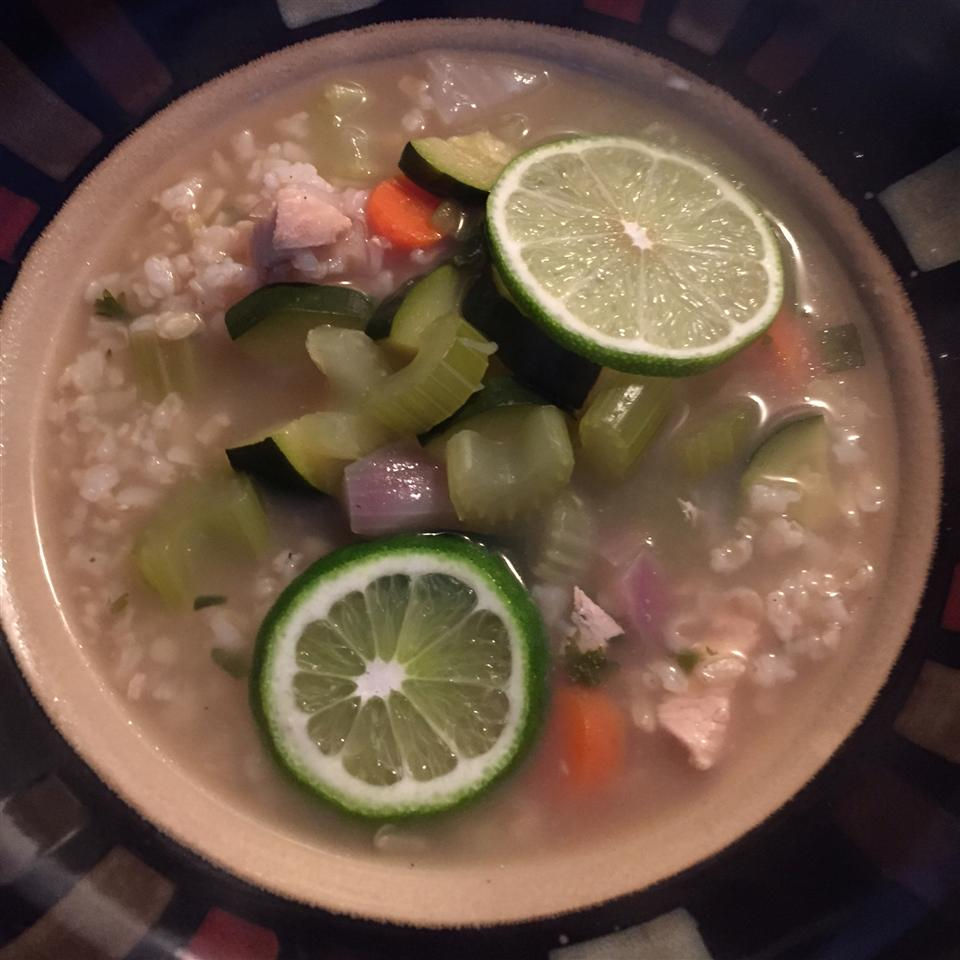 Hearty Chicken and Rice Soup Carrie Murphy