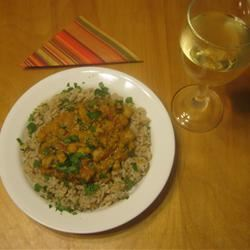 Spinach, Red Lentil, and Bean Curry darmstro67