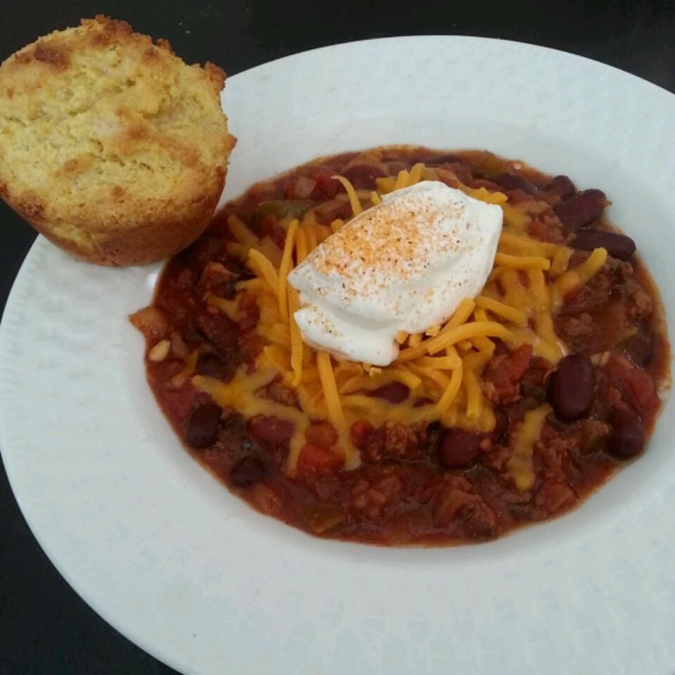Spicy Slow-Cooked Chili dan