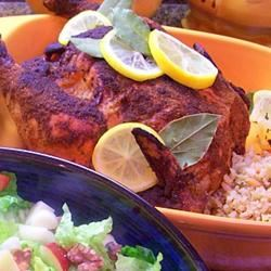 Roasted Curried Chicken with Couscous Traci-in-Cali