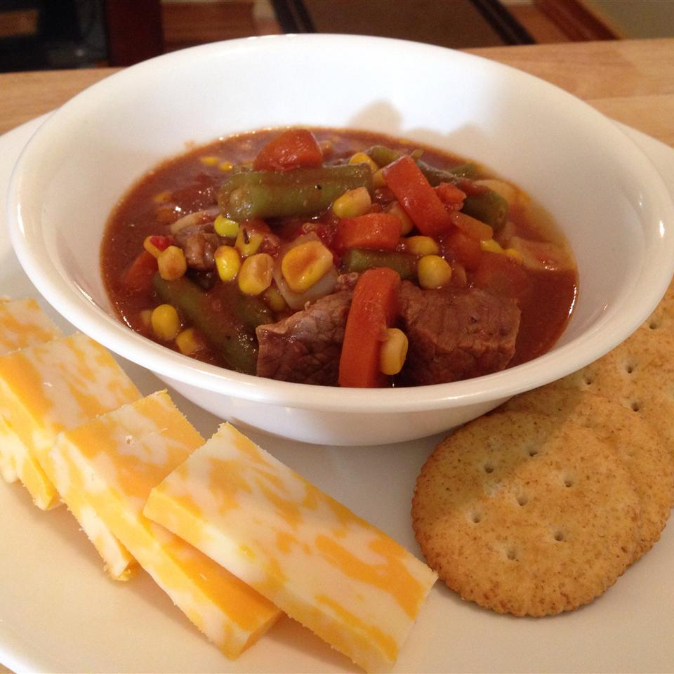 Slow Cooker Beef Vegetable Soup James K. Hamilton