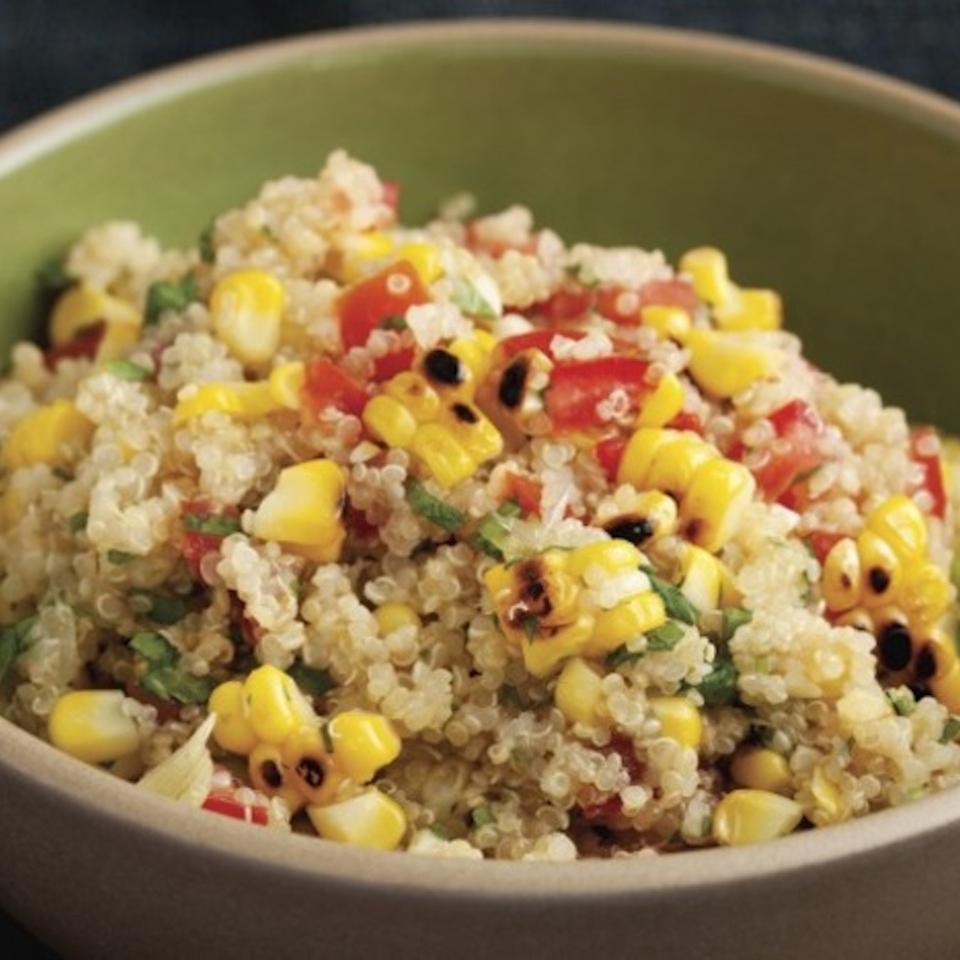 Charred Corn and Quinoa