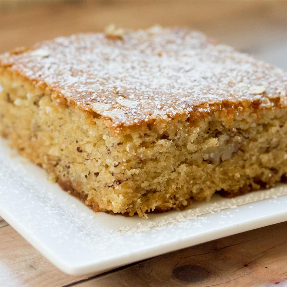 Banana-Oatmeal Cake (Screwed-Up Mother's Day Cake)