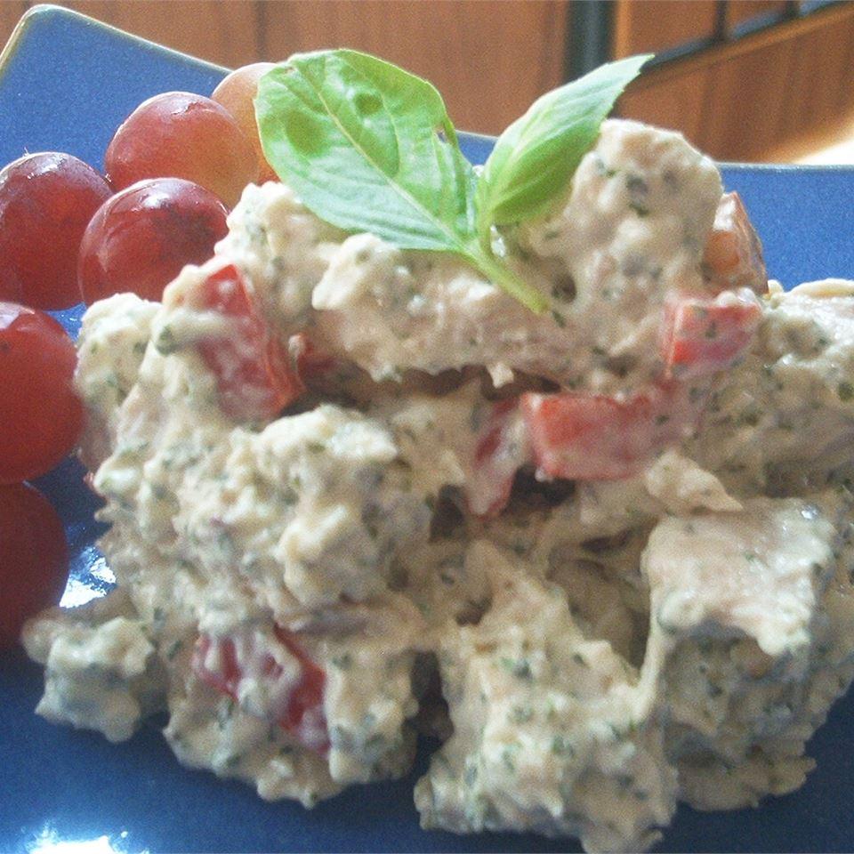 Parmesan and Basil Chicken Salad Michelle Ramey