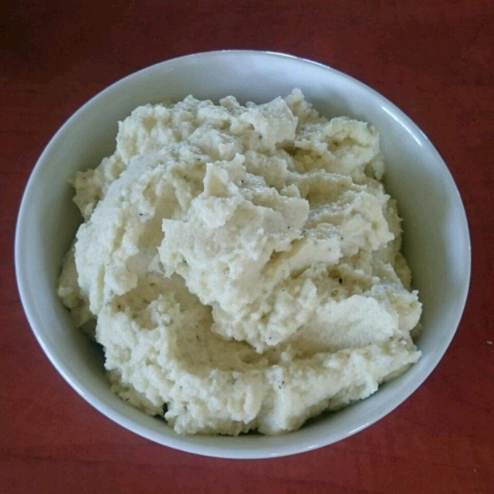 Low-Carb Mashed Cauliflower Litto