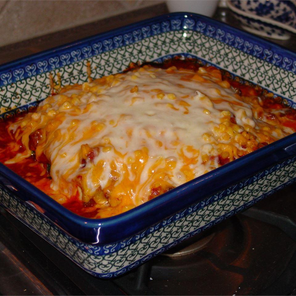 Easy, Cheesy Zucchini Bake SUMMERADD