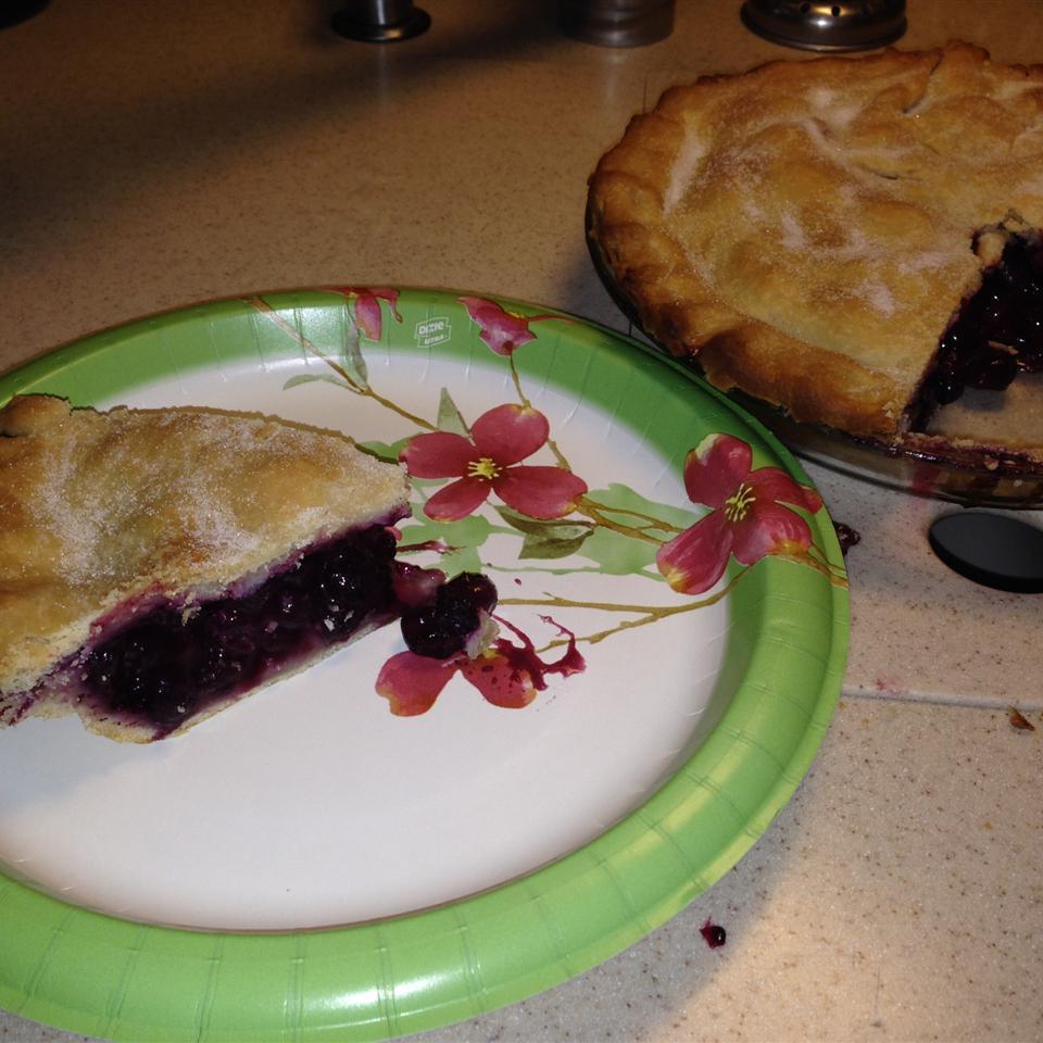 Blackberry and Blueberry Pie Hugh B