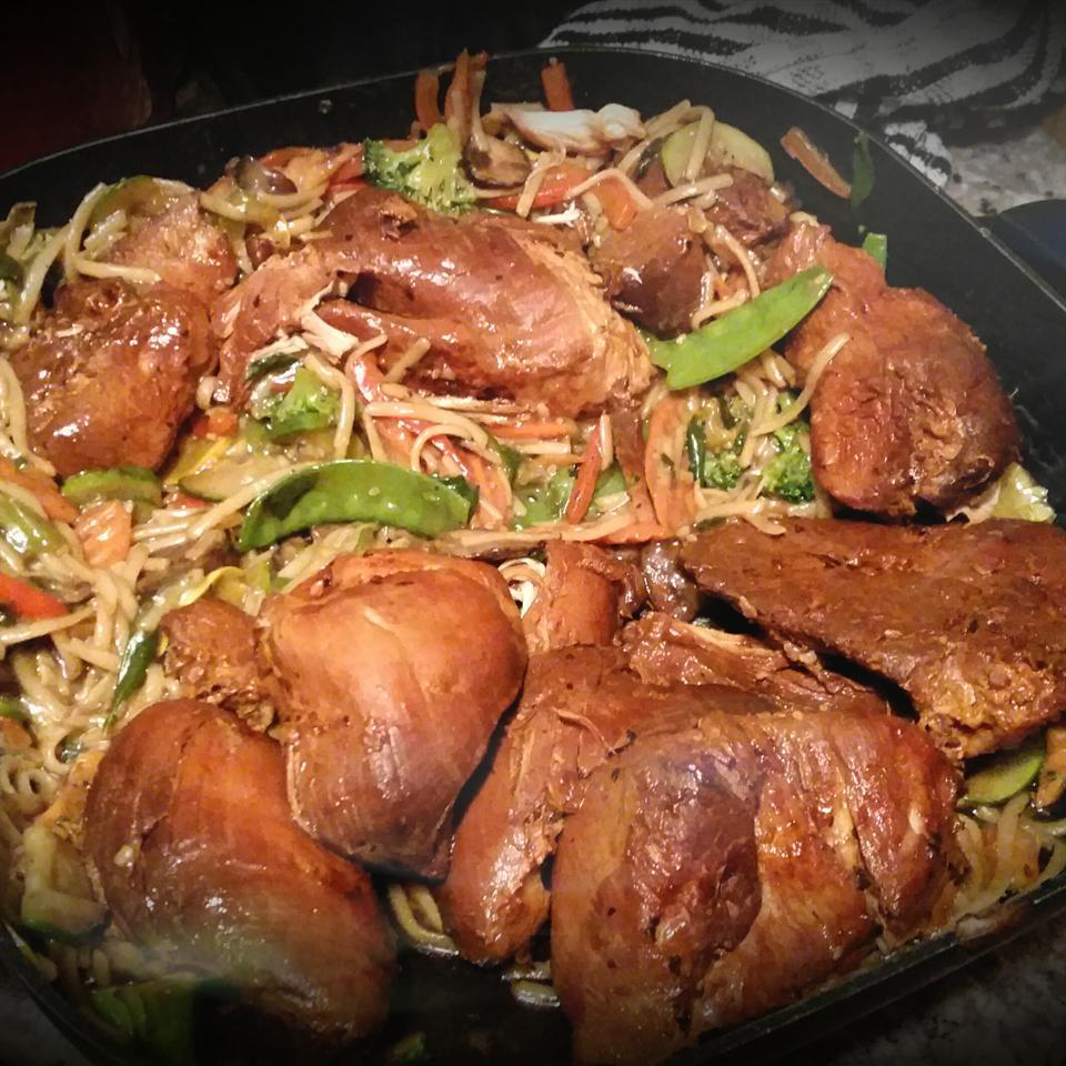 Stir-Fry Chicken Lo Mein ©@s§¡€