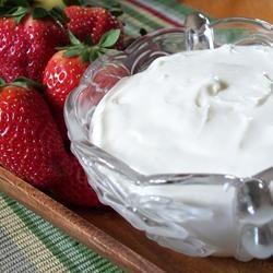 Fruit Dip with Cream Cheese homeschooler3