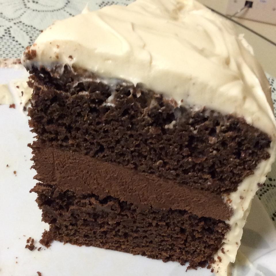 High-Altitude Chocolate Cake