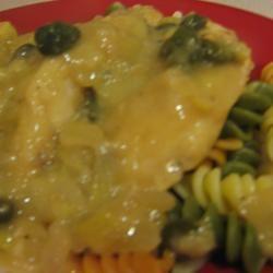 Chicken Piccata with Artichoke Hearts ahlavac