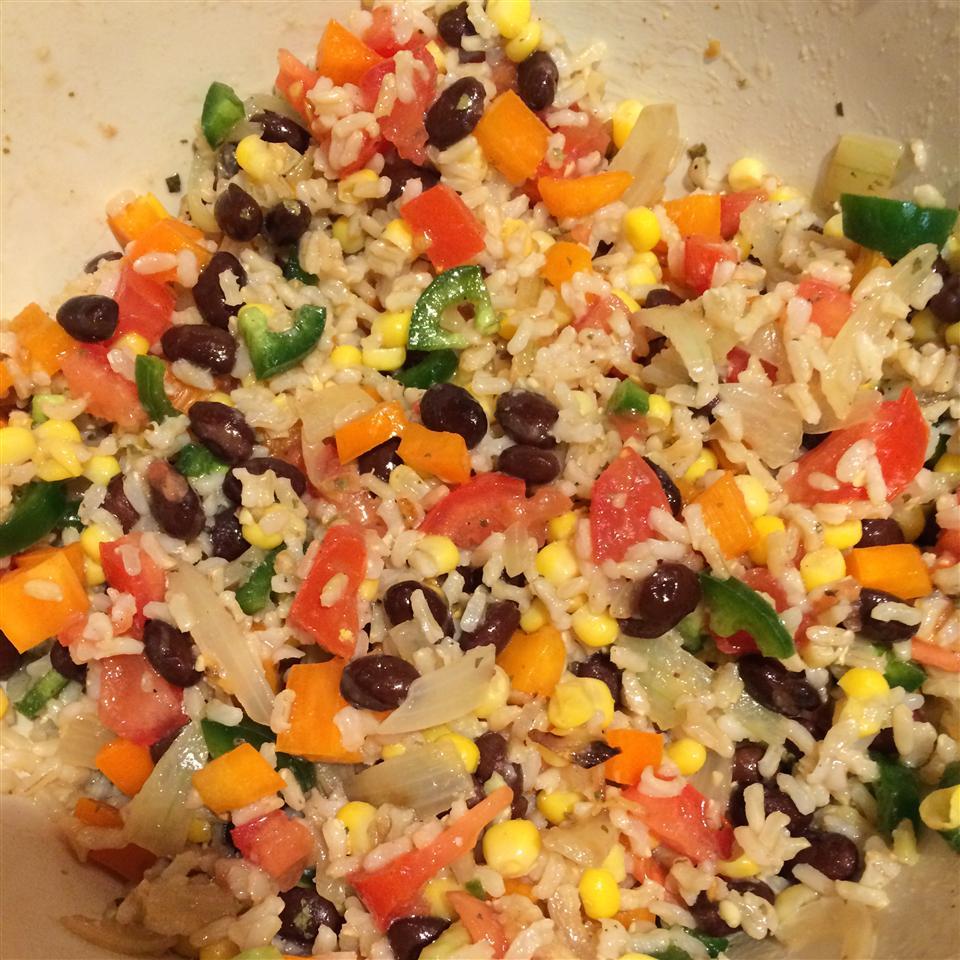 Black Bean and Rice Salad Janice