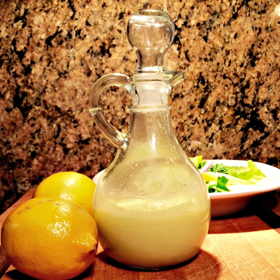 Refreshing Lemon-Ginger Dressing