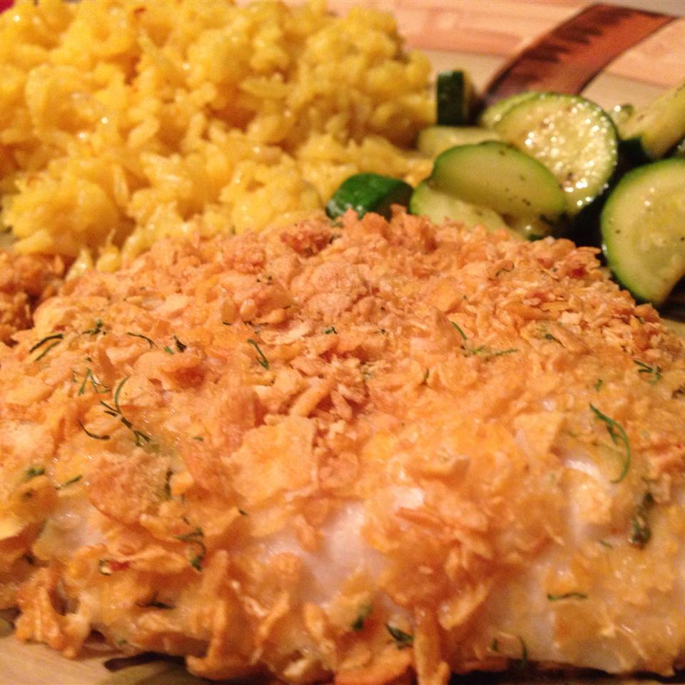 Corn Flake-Crusted Halibut Nrsnatasha