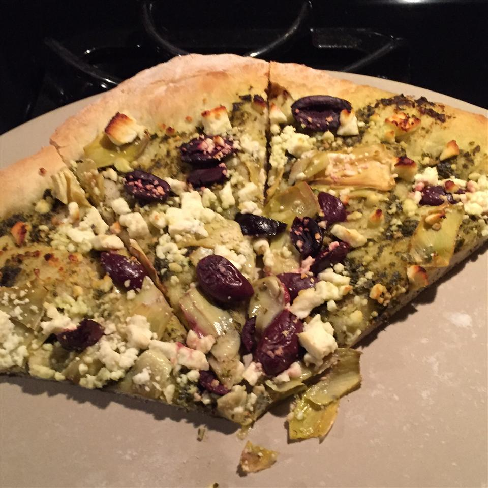 Mediterranean Whole Wheat Pizza