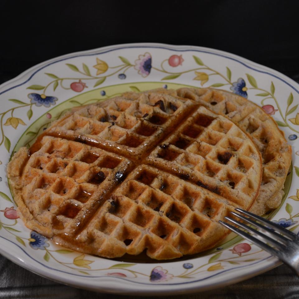 Coconut Chocolate Chip Waffles Rebekah Rose Hills