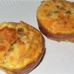 Scrambled Egg Muffins MamaToNikolas