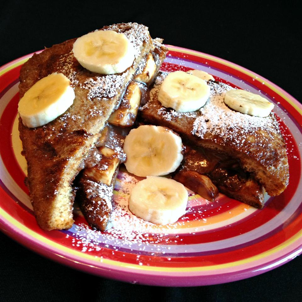Banana and Nutella® French Toast