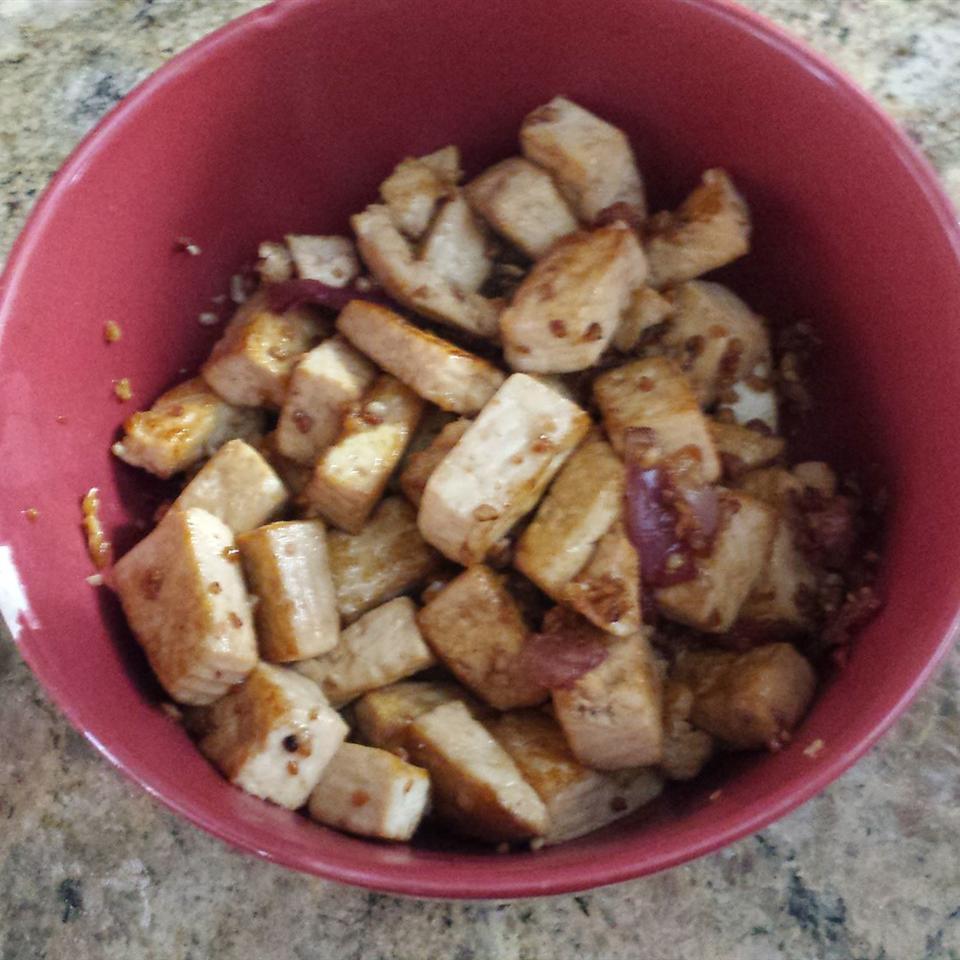 Garlic Ginger Tofu geniefae