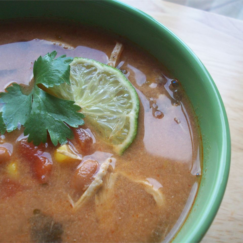 Slow-Cooker Chicken Tortilla Soup Elena