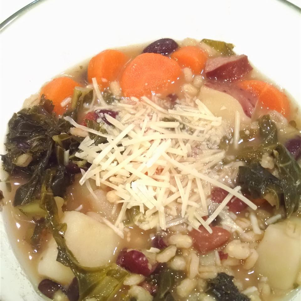 Easy Portuguese Kale Soup Emily Kane