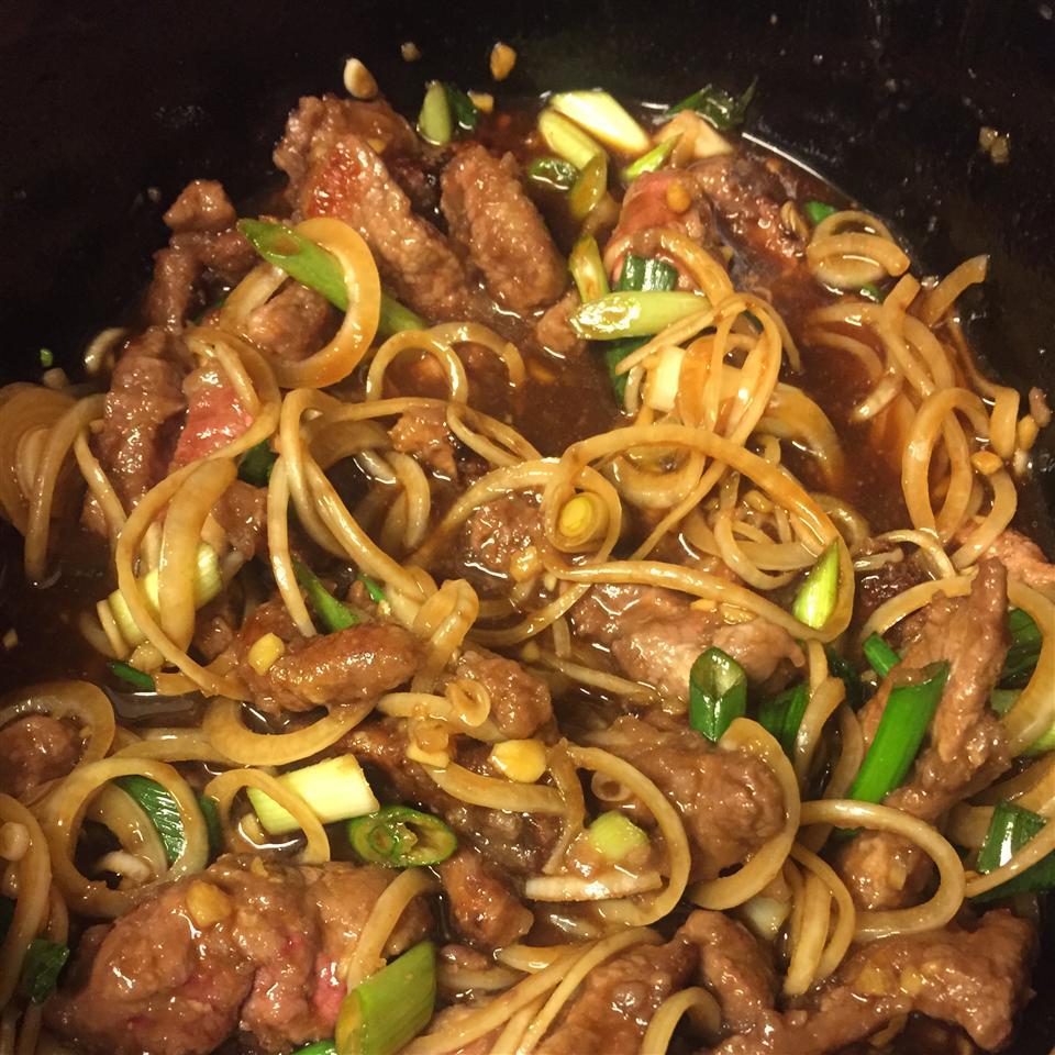 Slow Cooker Mongolian Beef