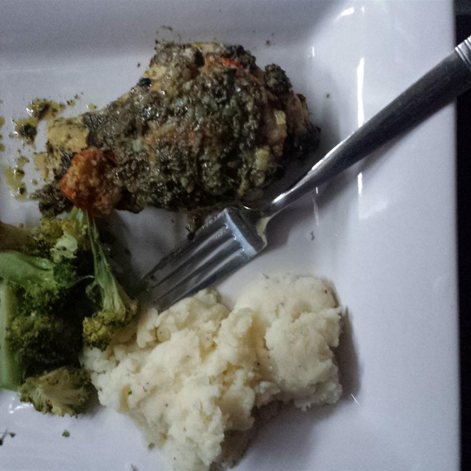 Spinach Pesto Chicken Breasts juana hipolito