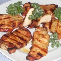 Grilled Pork Steaks with Lemon Butter Sauce STARAJOY