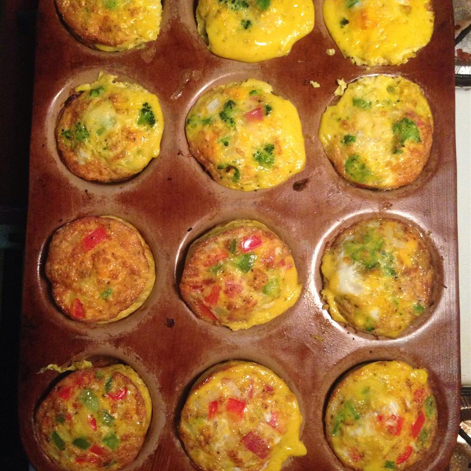 Paleo Omelet Muffins CaptainEd