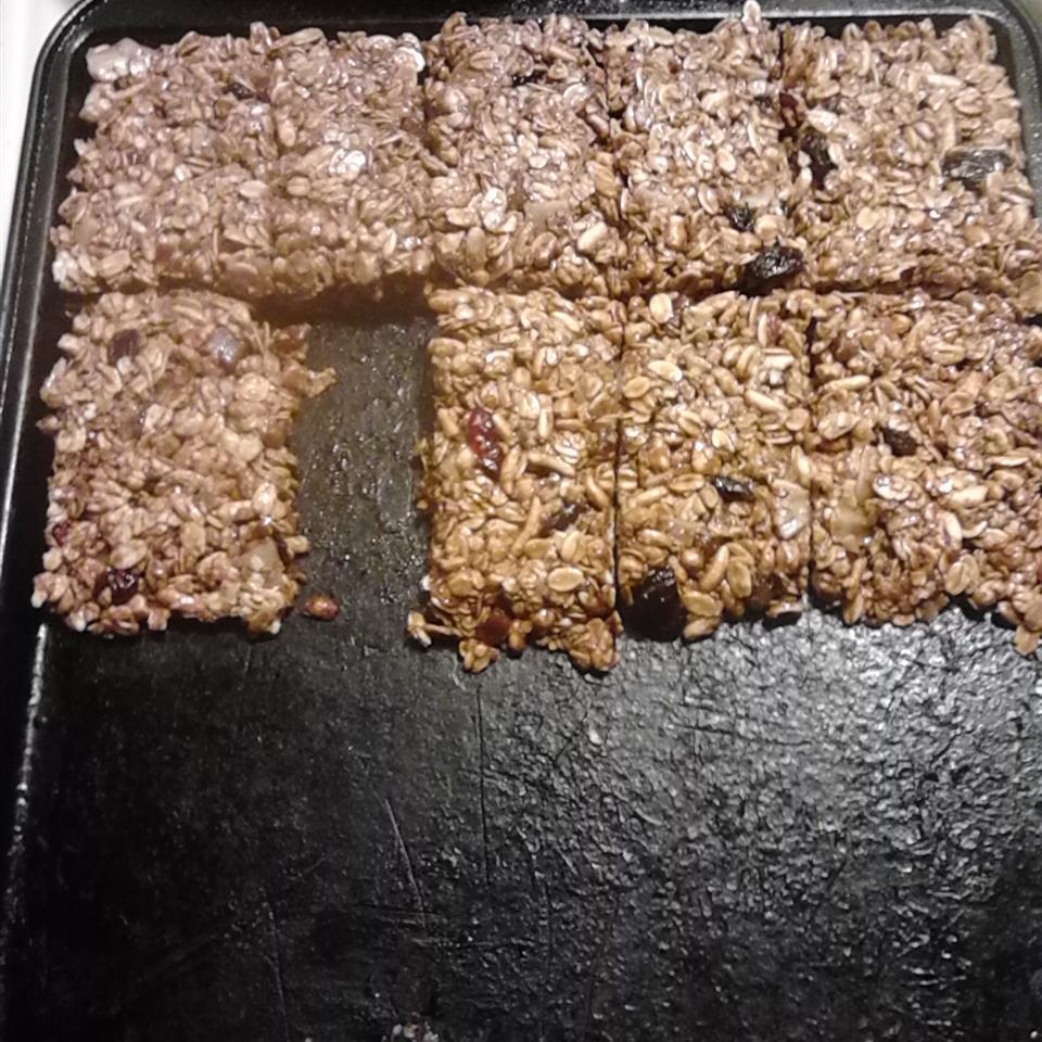 Peanut Butter Granola Bars blcknss