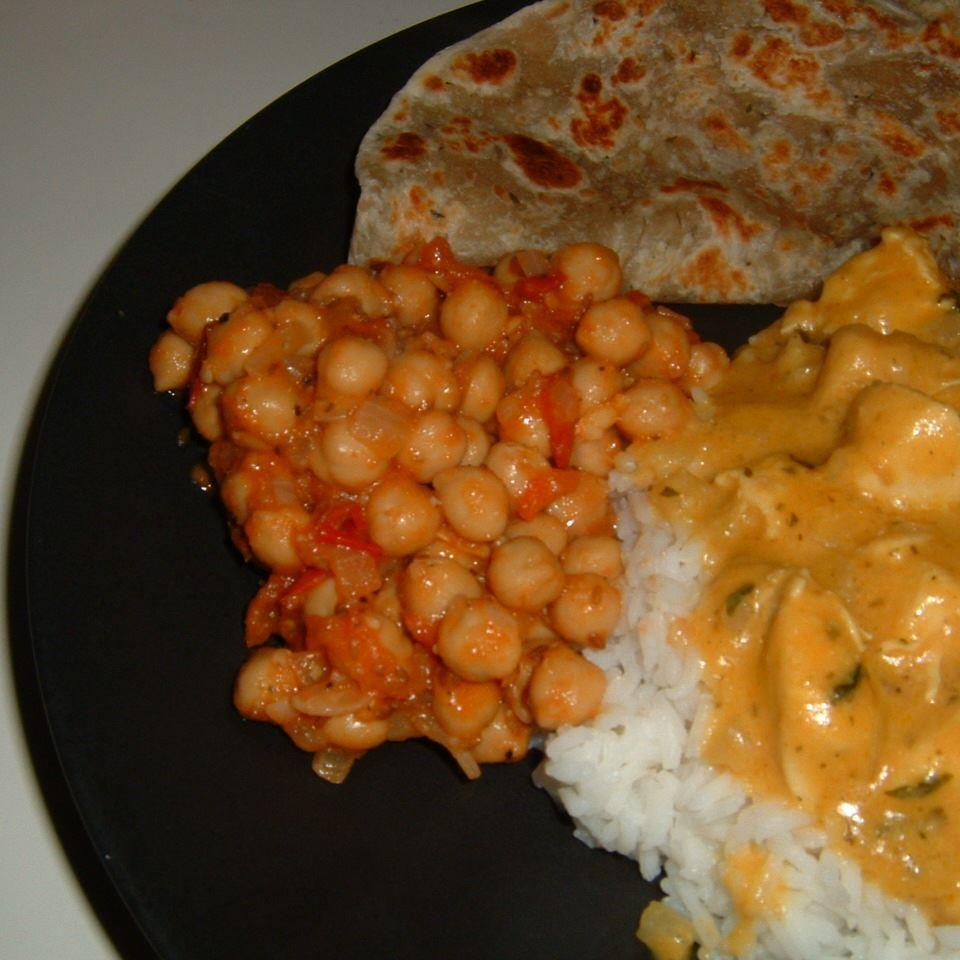Pakistani Spicy Chickpeas Caroline C