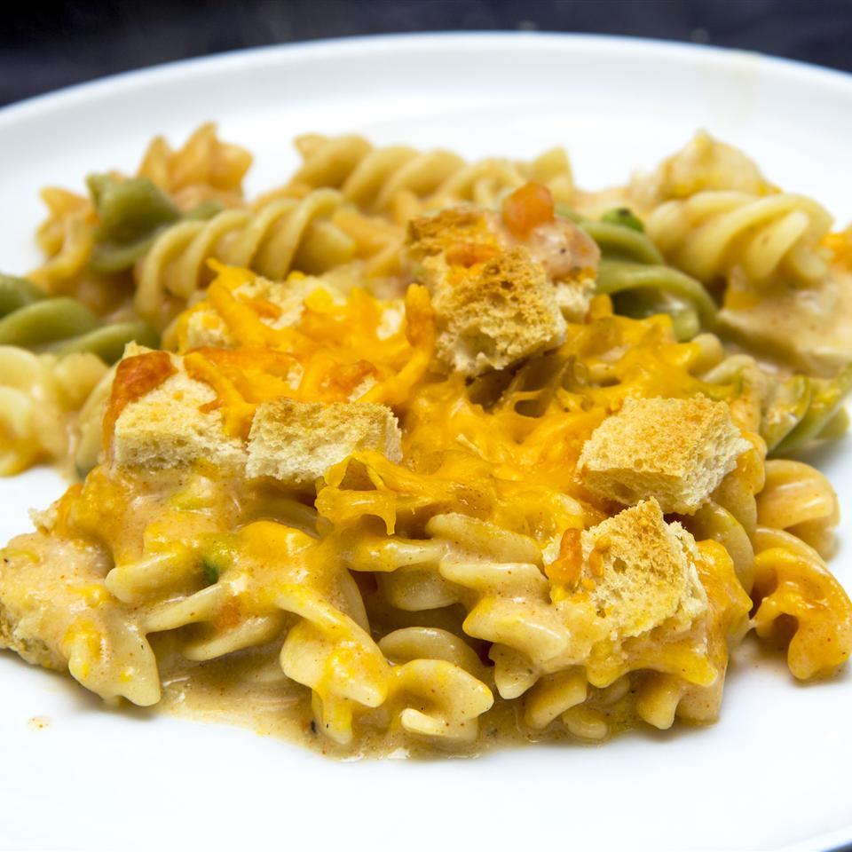 Cheap Chicken Noodle Casserole
