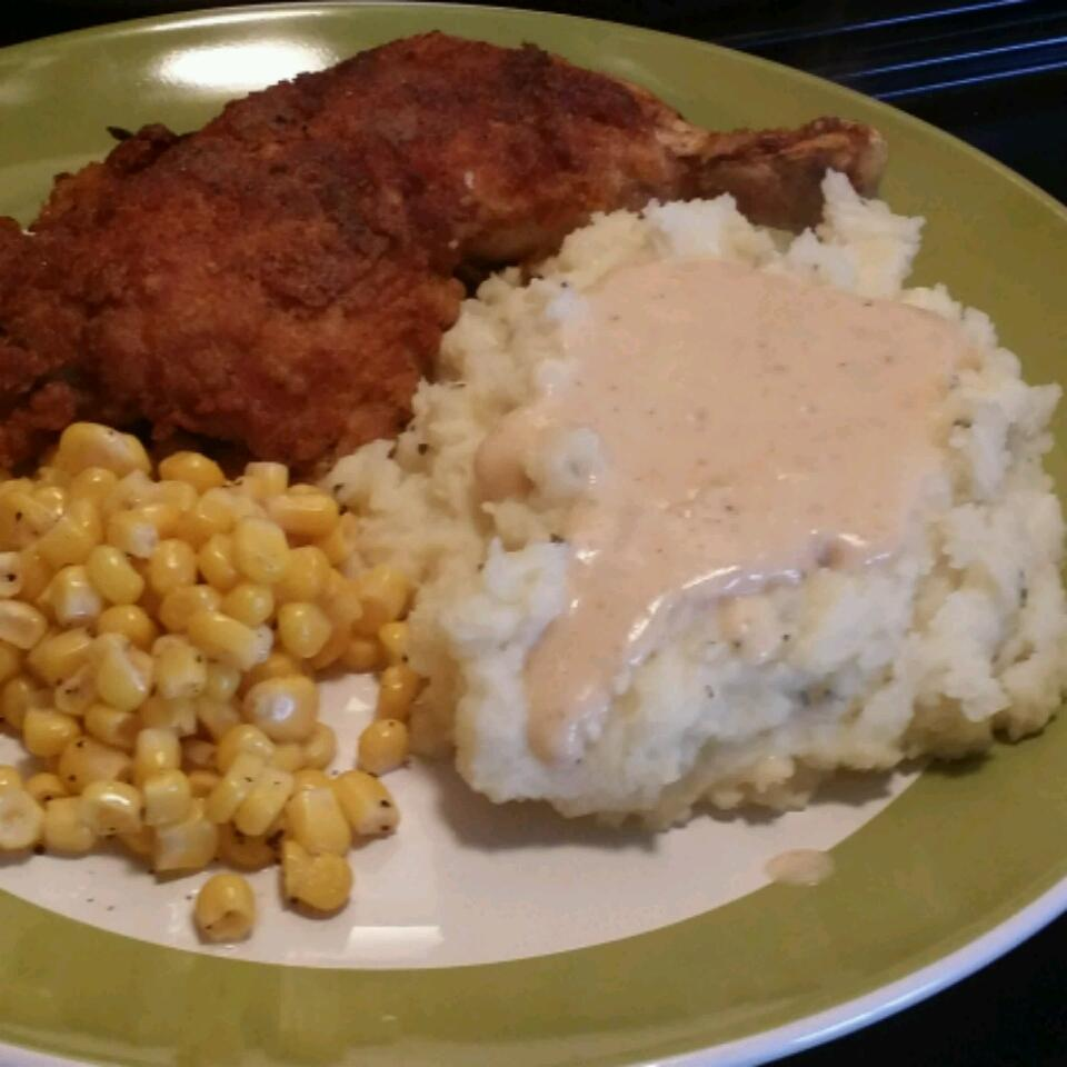 Fried Chicken with Creamy Gravy Mohamed Ebrahim