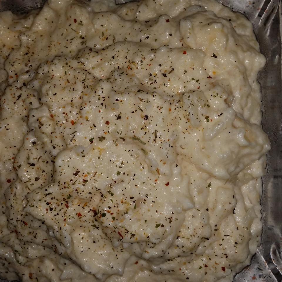 Low-Carb Mashed Cauliflower