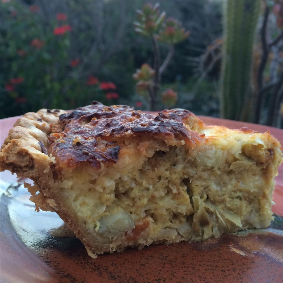 Artichoke Pie